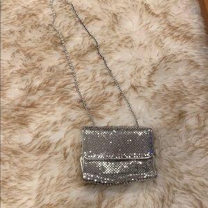 Vintage Silver Mesh Bag! Whitney Davis Since 1876